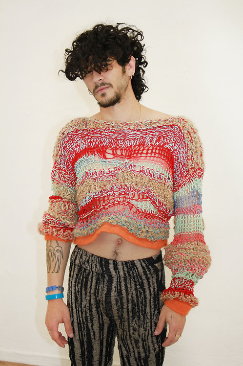 Dimension-Hot Sweater