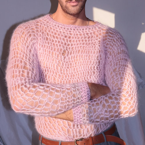 The cotton candy sweater