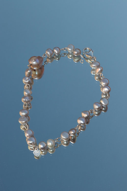 The Silver lining bracelet