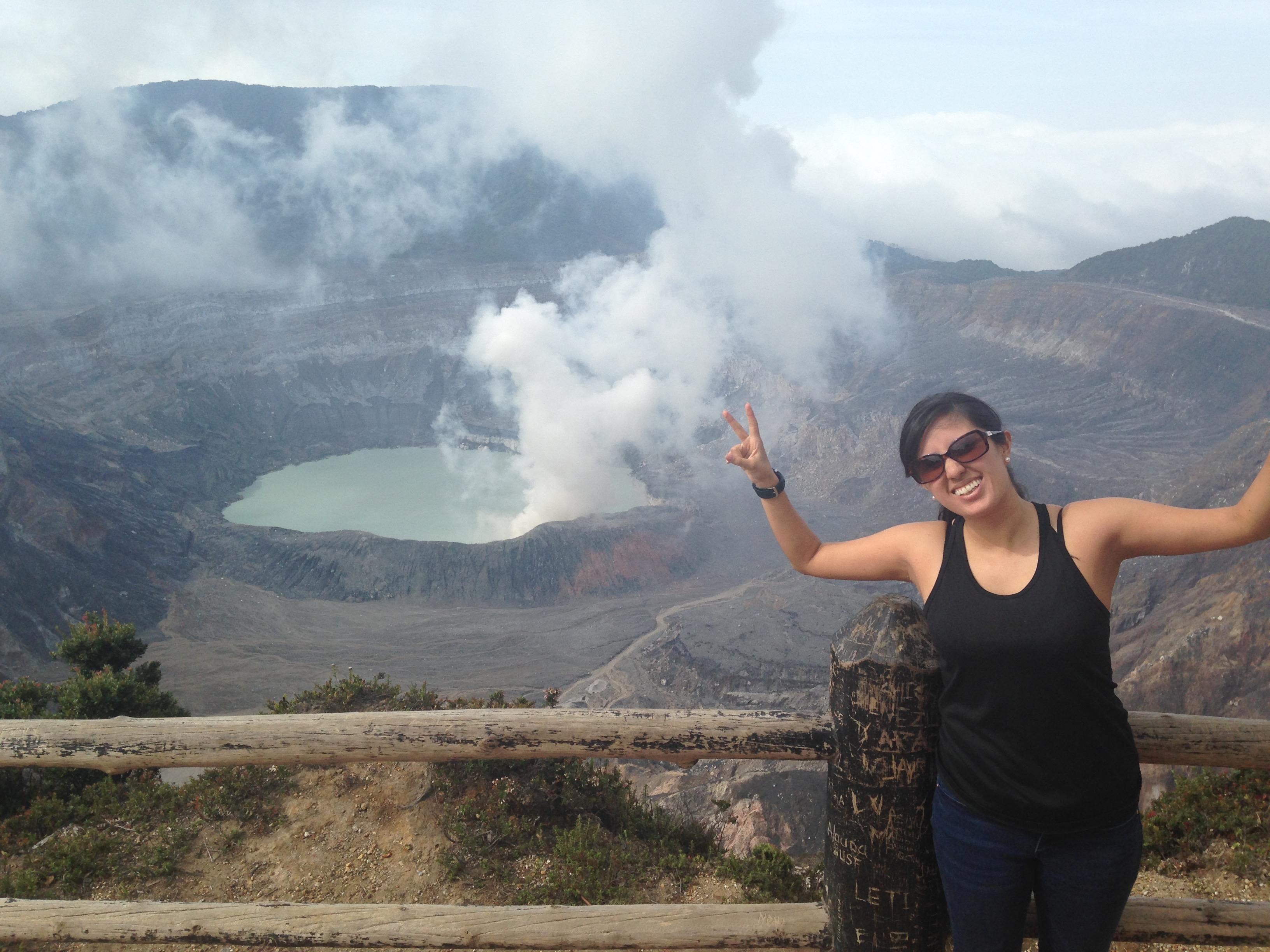 Volcán Poas. Costa Rica