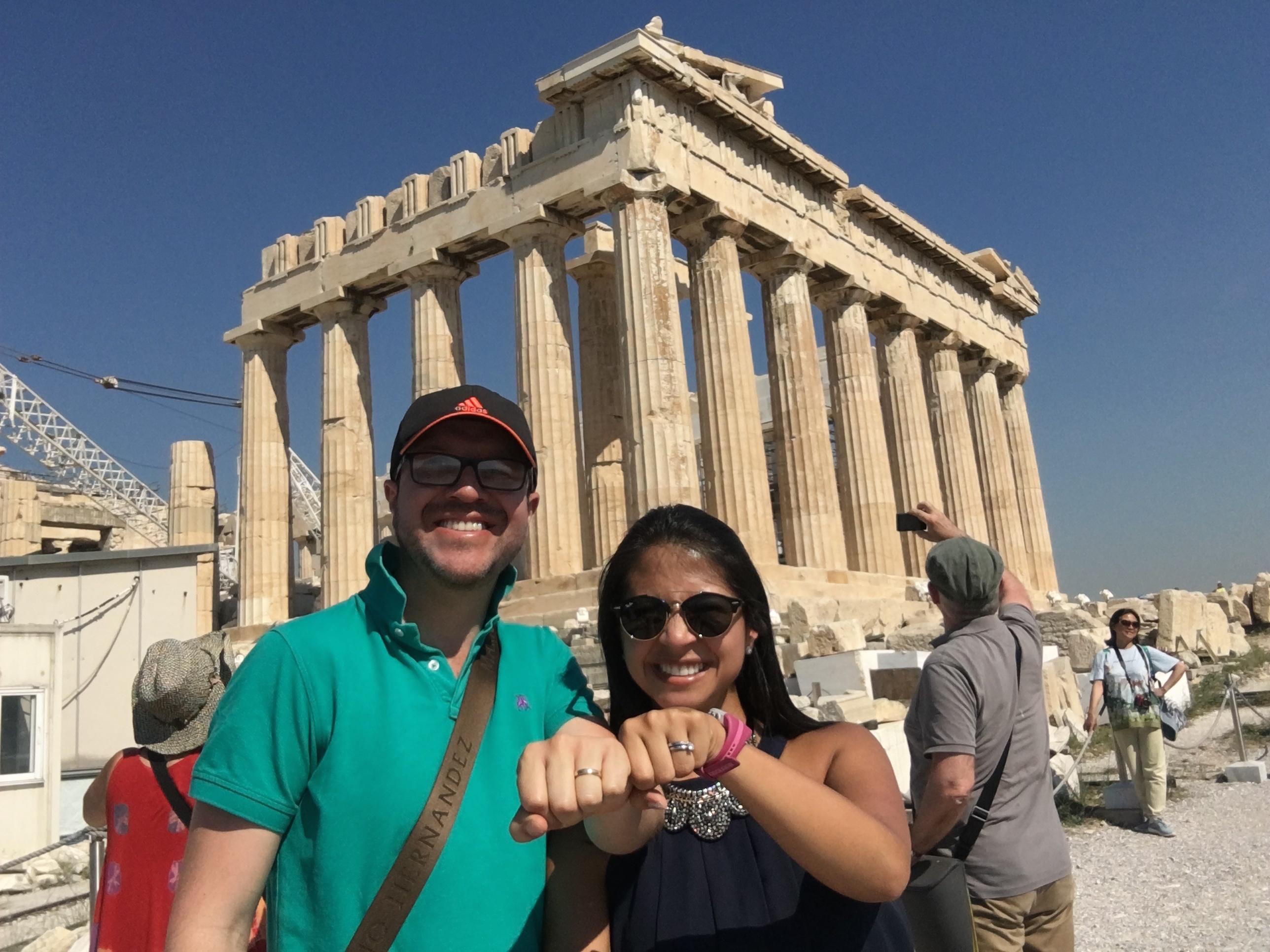 Acrópolis en Atenas, Grecia