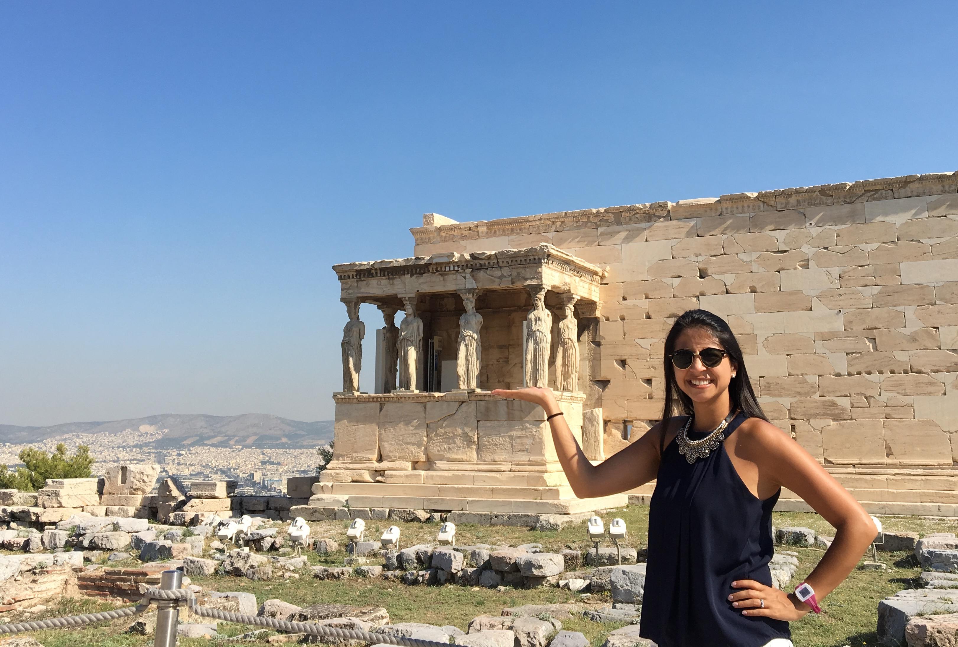 El Erecteón en Atenas