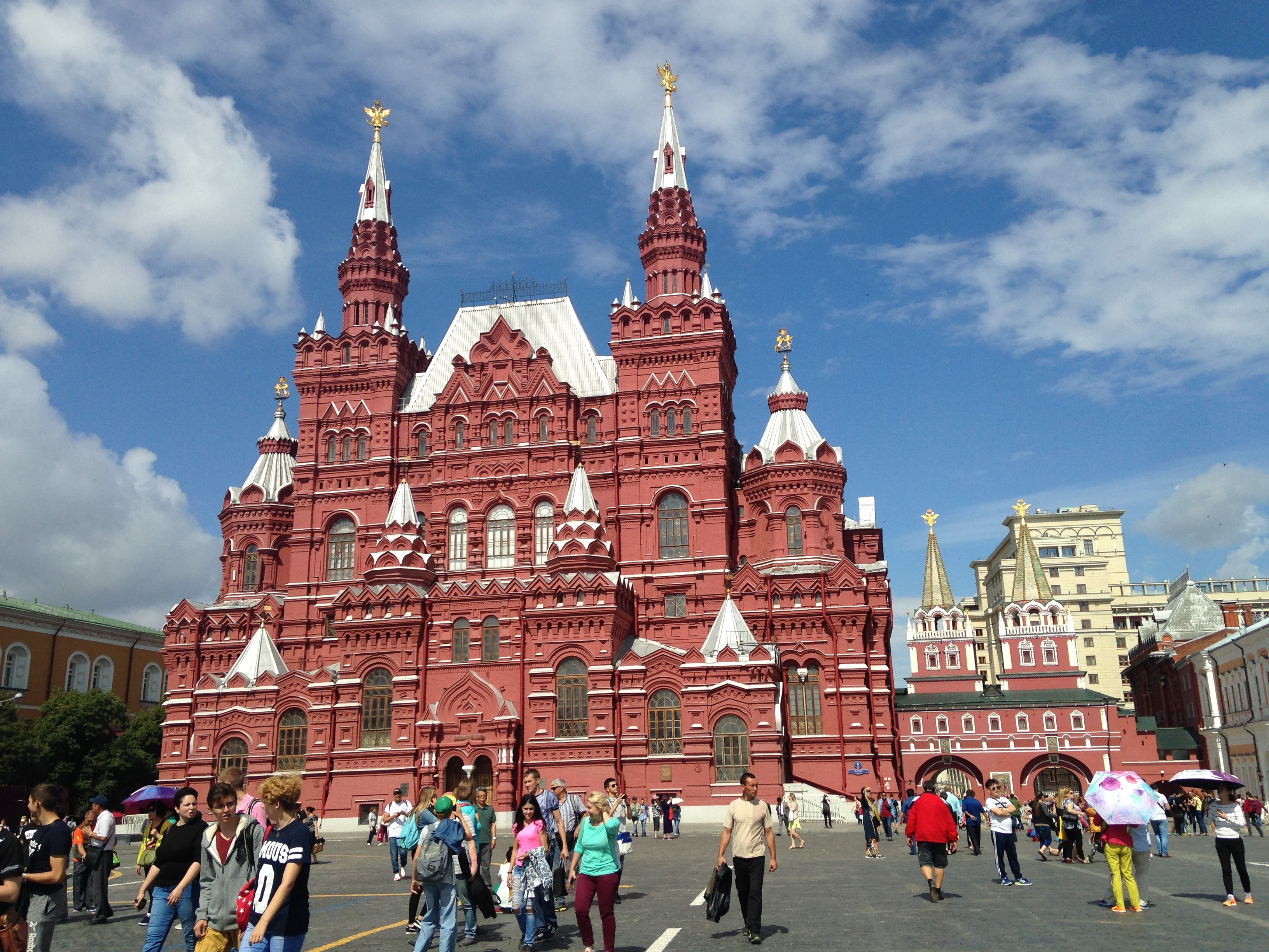 Plaza Roja.  Moscú, Rusia