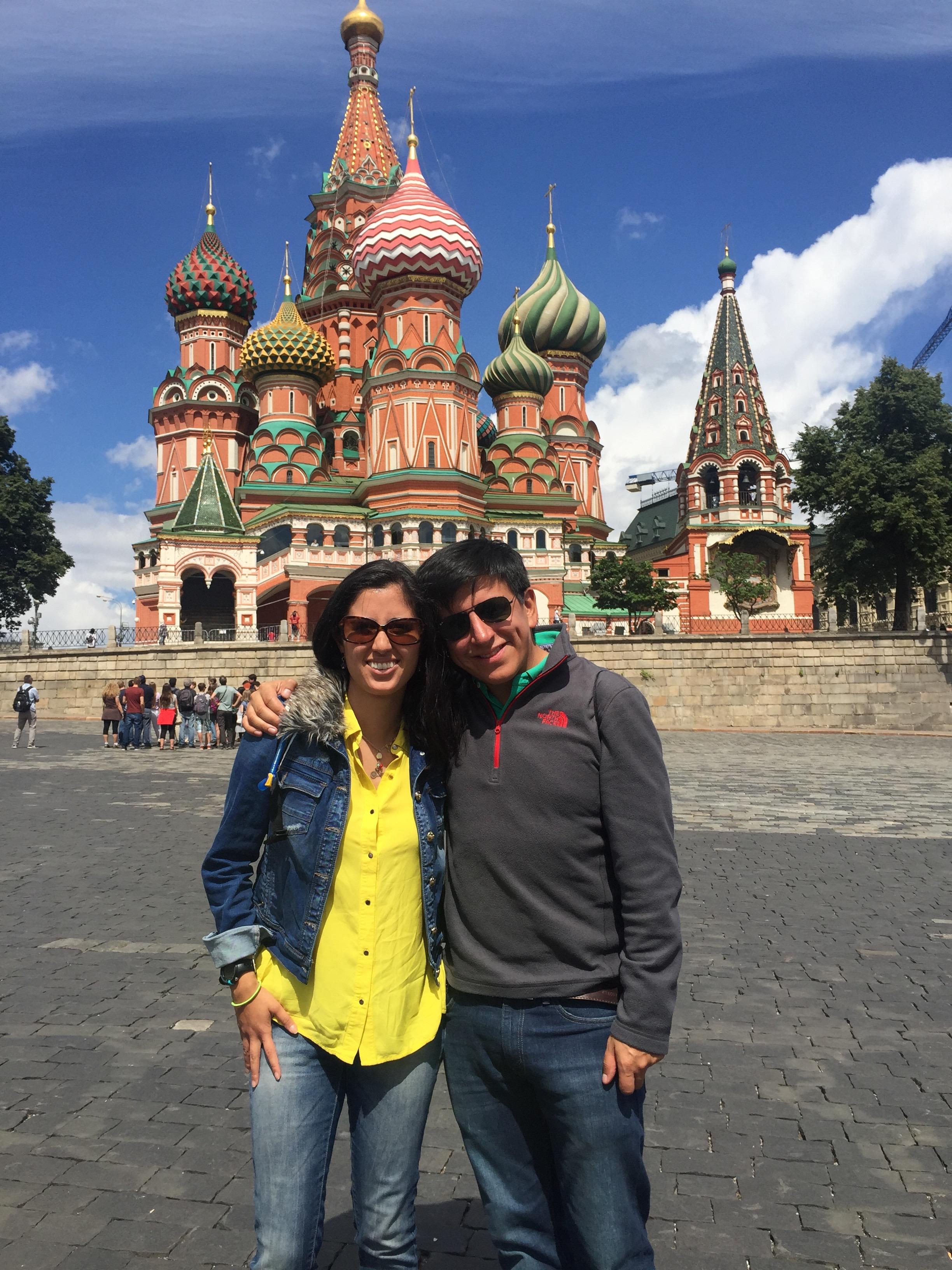 Iglesia de San Basil. Moscú, Rusia