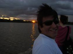 Navegando por el Rio Amazonas