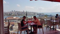 Vista al Bósforo. Istanbul, Turquía