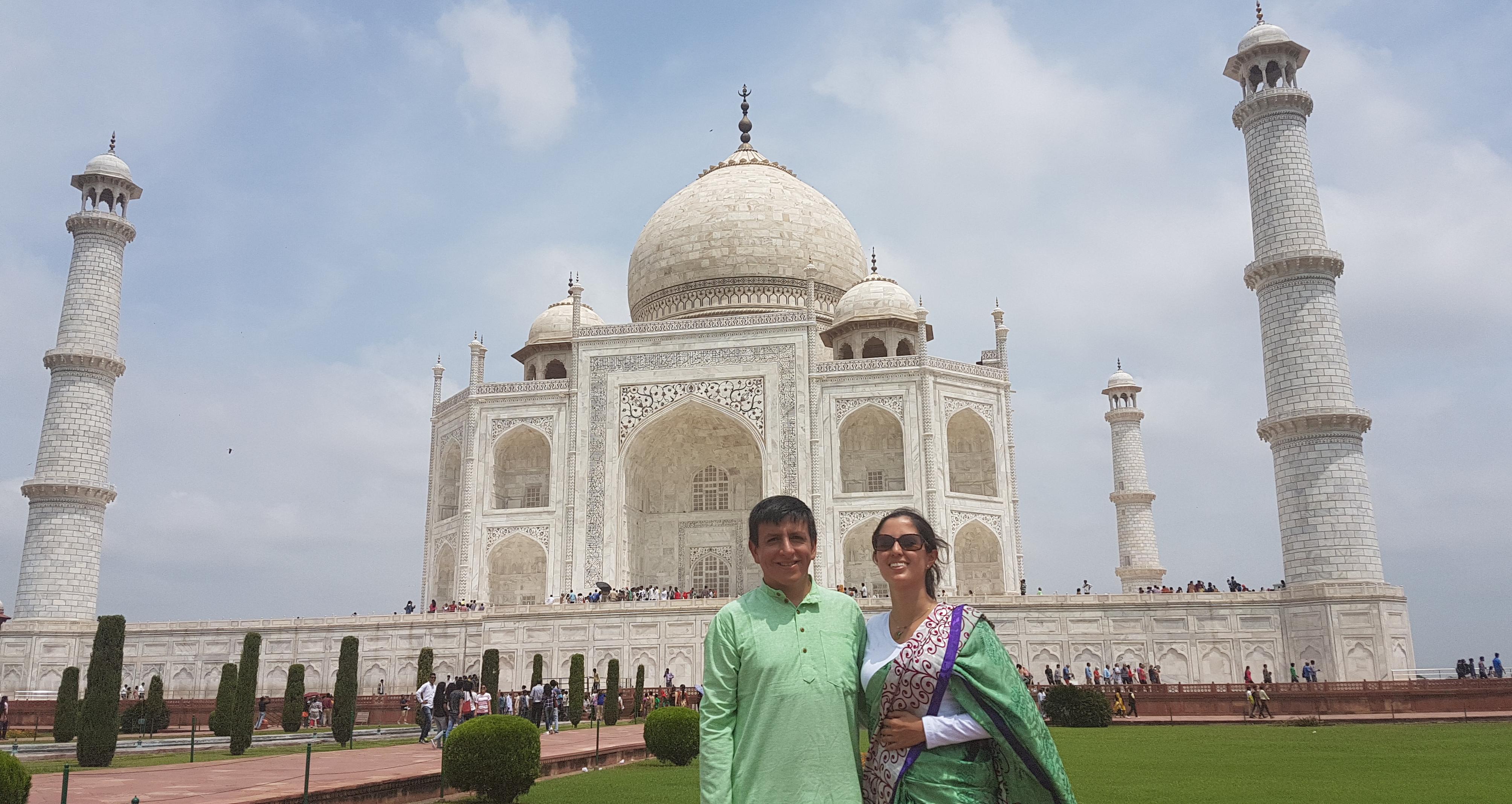 Taj Majal. Agra, India
