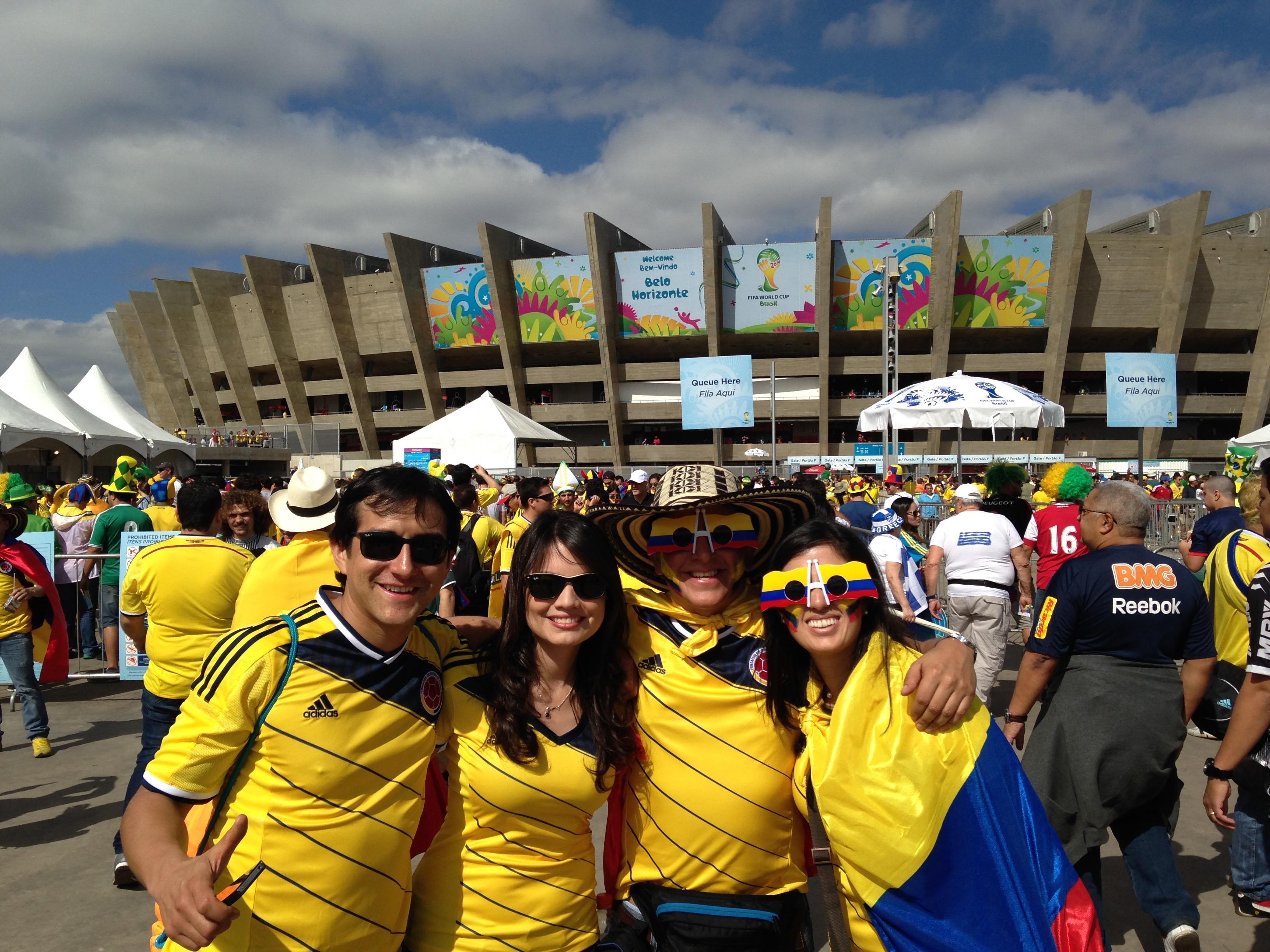 Estadio Mineirao. Belo Horizonte
