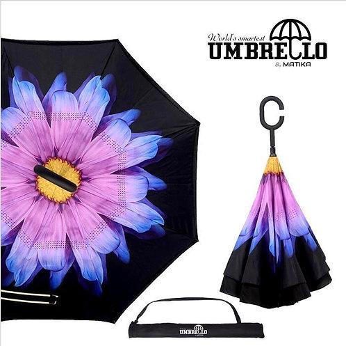 Umbrello - Yellow/Purple Flower