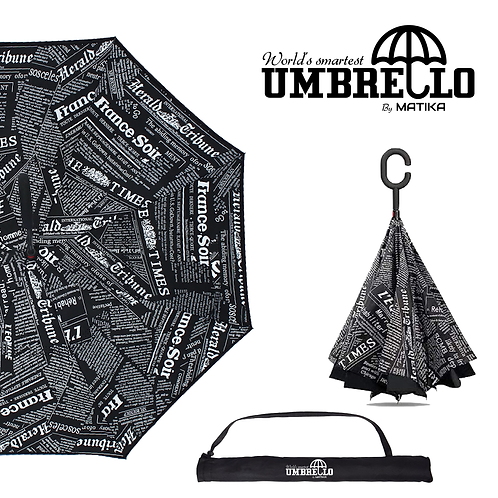 Umbrello - Black News Paper