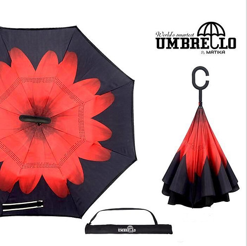Umbrello - Red Flower