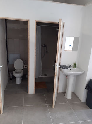 WC et Douche du club de JJB / Grappling à Lyon centre