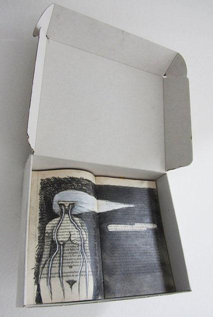 Installazione- I quaderni del pianto