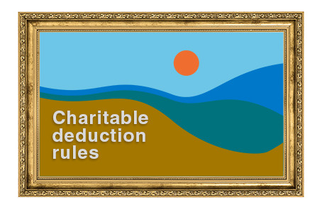 Navigating the tax landscape when donating works of art to charity