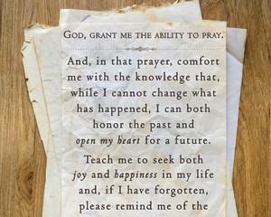 """""""Prayer,"""" explained God, """"matters."""""""
