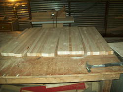 Custom Made Butcherblock Countertop
