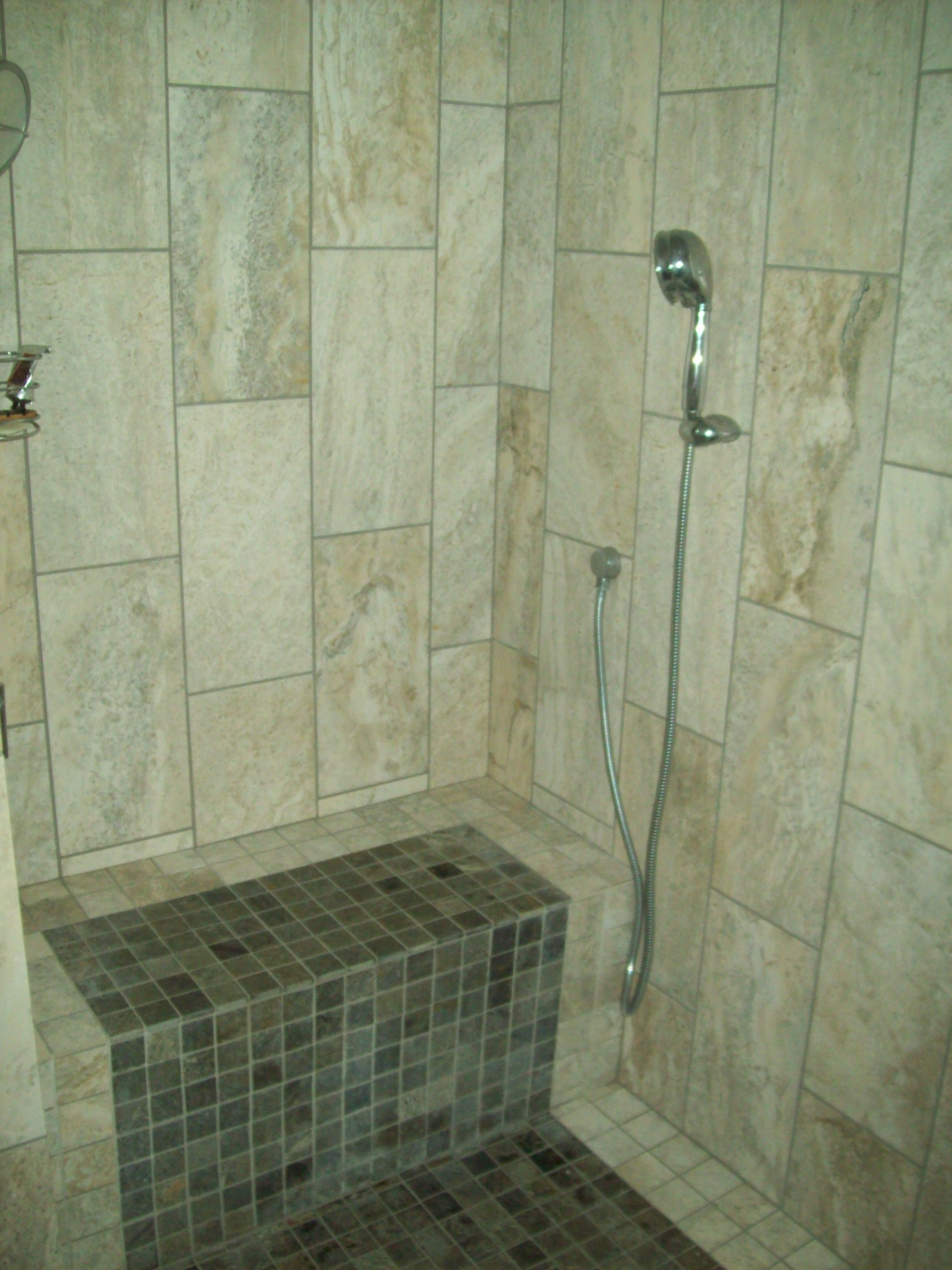 Custom Tile Shower Enclosure