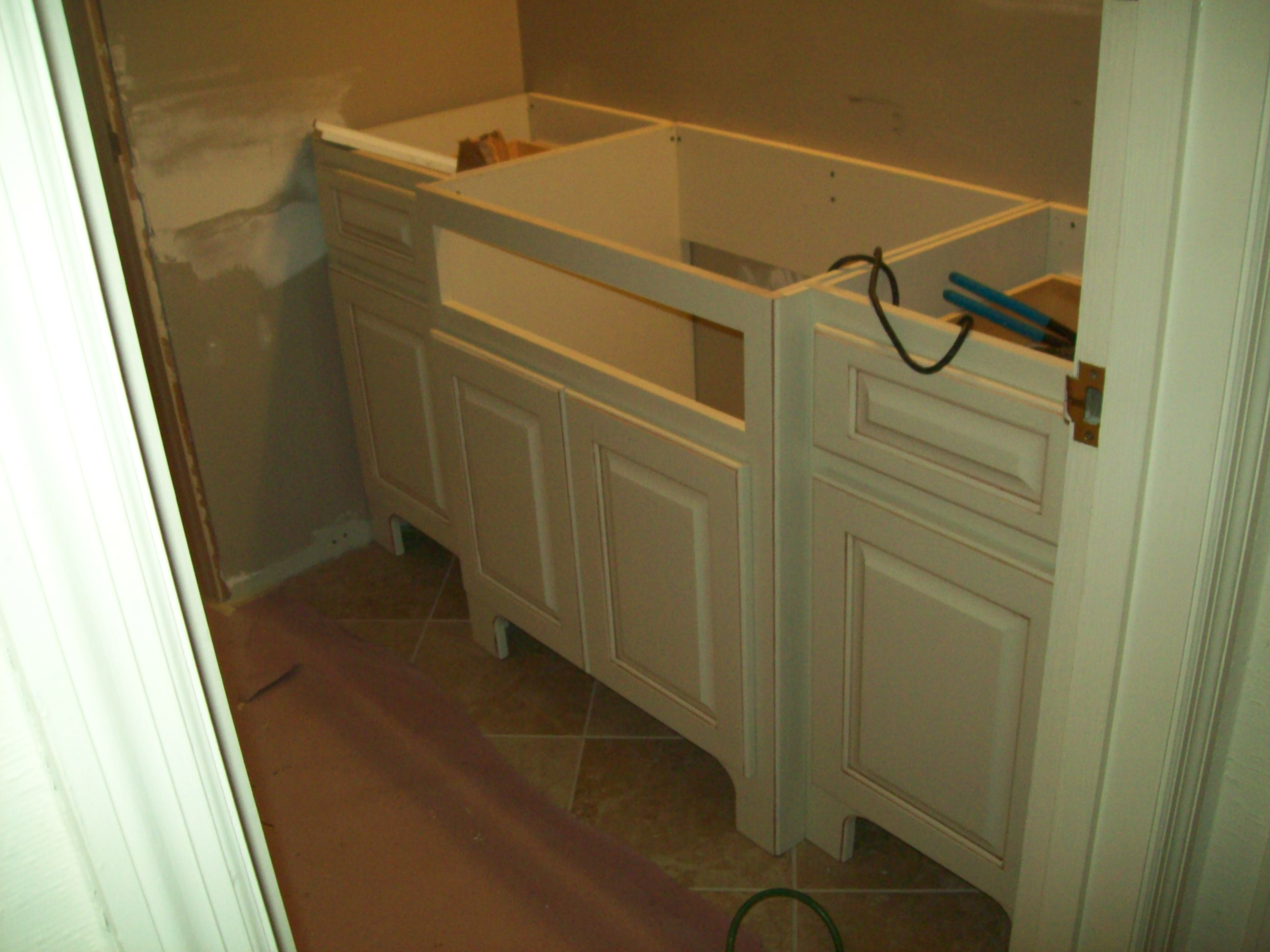 Bathroom Makeover ...Before
