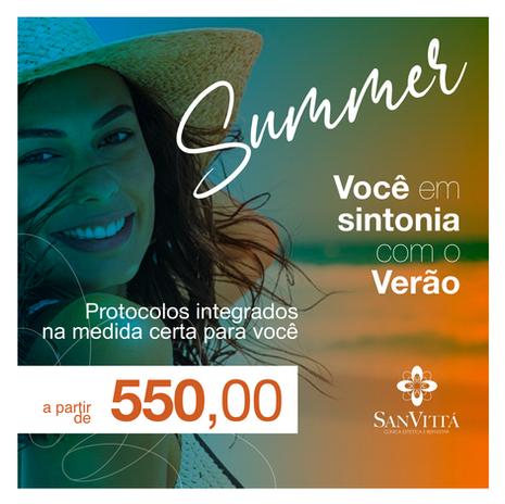 Summer - Você em Sintonia com o Verão