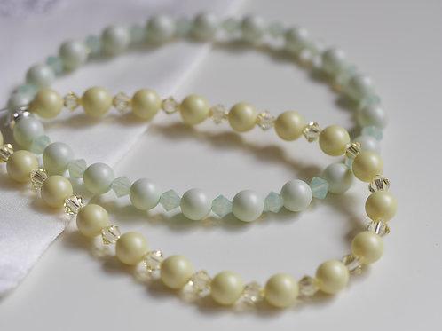 Swarovski MATT Pearl & Crystal Bracelet