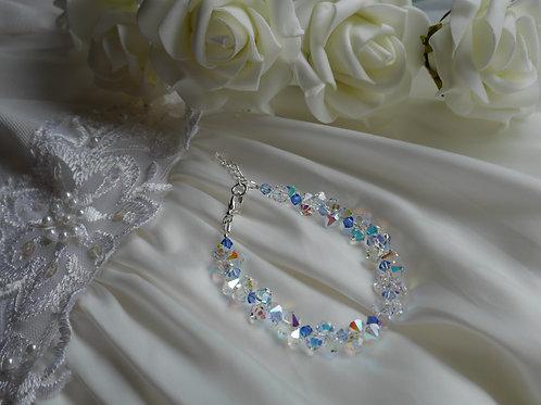 "Swarovski Crystal ""Icicle"" Bracelet"