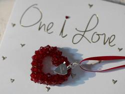 Swarovski Crystal Beaded Love Heart