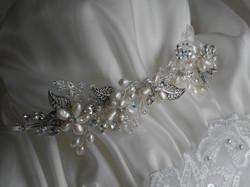 Freshwater Pearls Bespoke Side Tiara