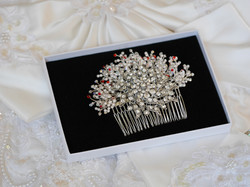 Bespoke  bridal comb for Rachel