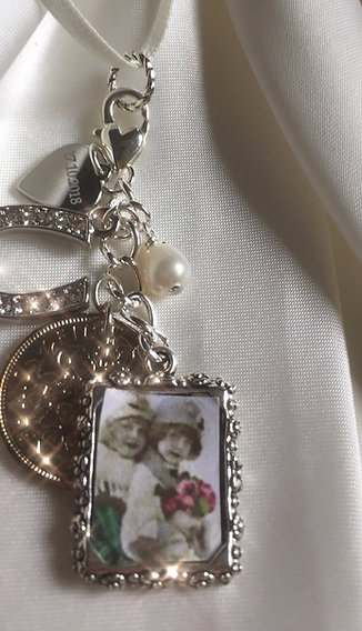 Bridal Bouquet Charm Remember your loved ones