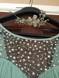 Swarovski side tiara