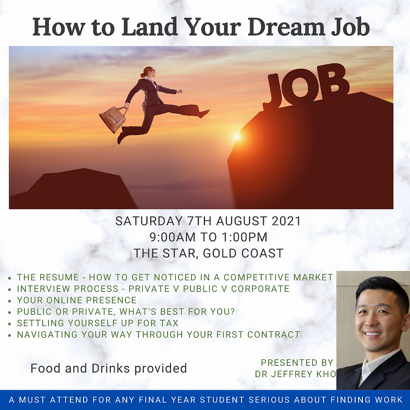 GUDSA How to Land Your Dream Job