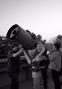 Celestron C14 Mounted on the Deck