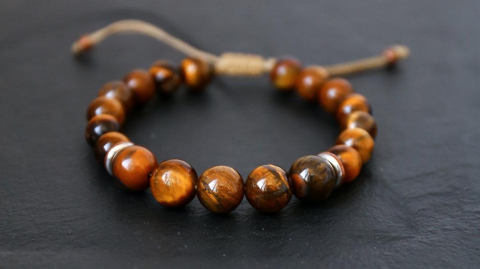 Bracelet à pierre Œil de tigre