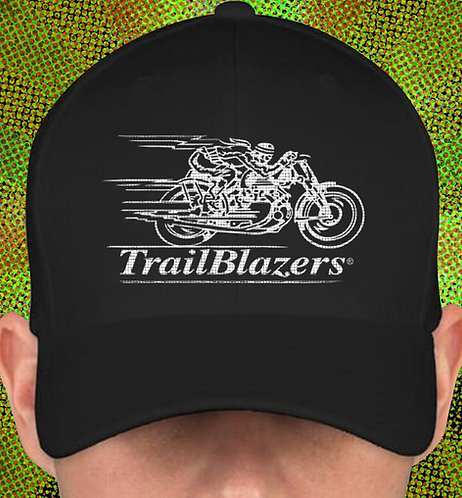 Trailblazers Brush Twill Embroidered Logo Cap