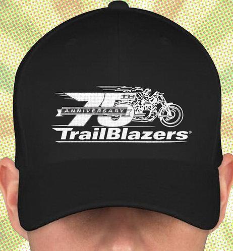 75th Anniversary Trailblazers Brush Twill Embroidered Logo Cap