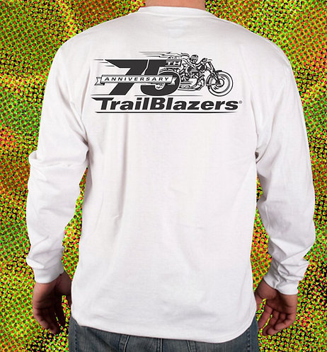 75th Anniversary Trailblazers Long Sleeve T-Shirt
