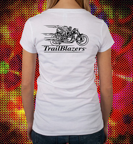 Trailblazers Ladies V-Neck T-Shirt