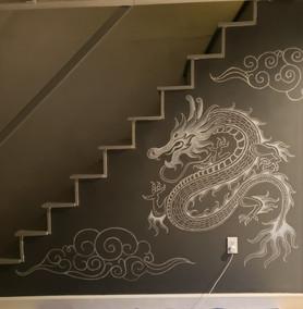 Dragon & Clouds