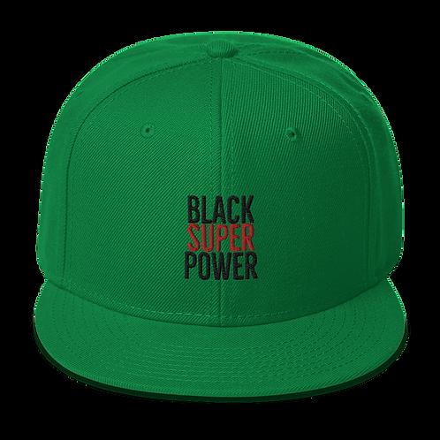 SUPER Cap • BHM X Pan-African Green