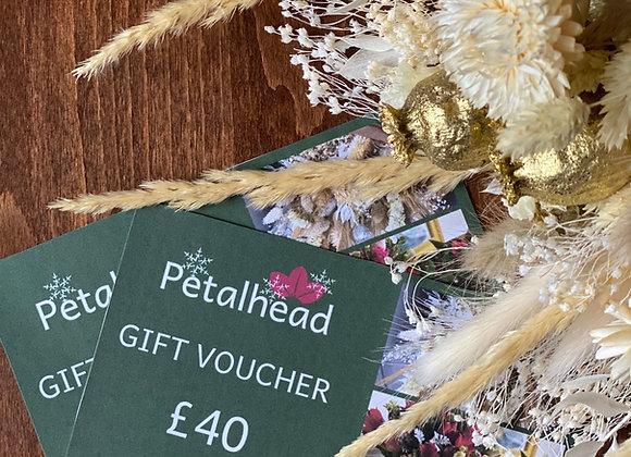 Petalhead Gift Voucher