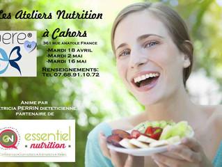 Les Ateliers Nutrition - AERE 46