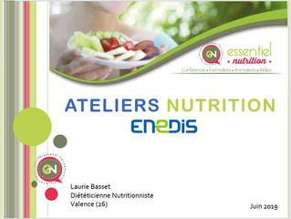 Ateliers Nutrition - ENEDIS 2019