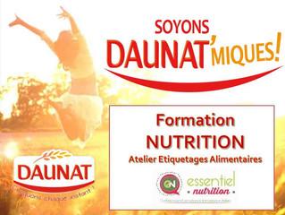 Formations Nutrition - Nov 2018
