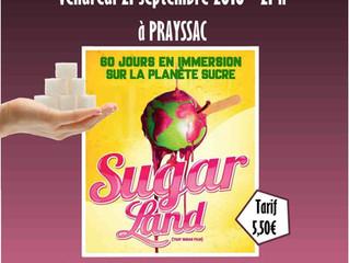 """Soirée Ciné-Débat """"SUGARLAND"""" (D.Gameau) animée par Essentiel Nutrition"""