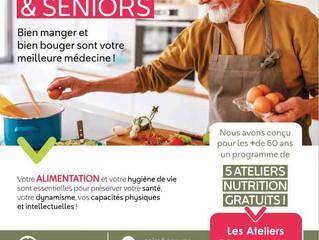 ATELIERS NUTRITION pour les +de 60 ans