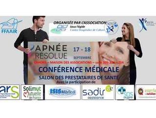 """Conférence """"Apnée du Sommeil et Diététique"""" - 18/09/2016"""