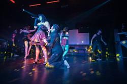 Performing at Ohm Nightclub