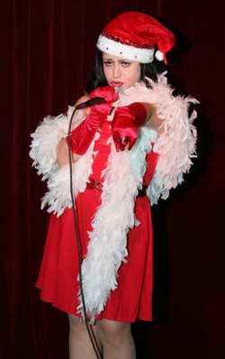 Christmas Burlesque show at Three Clubs