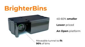 BrighterBins smart sensor for bins