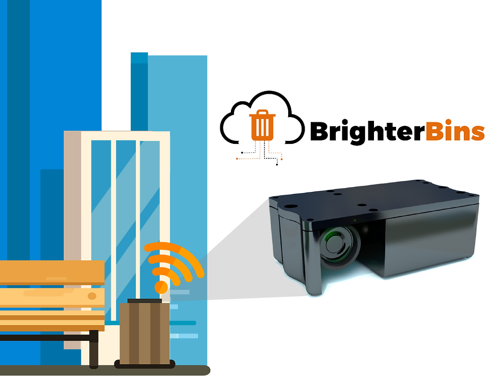 BrighterBins a new and better smart garbage solution